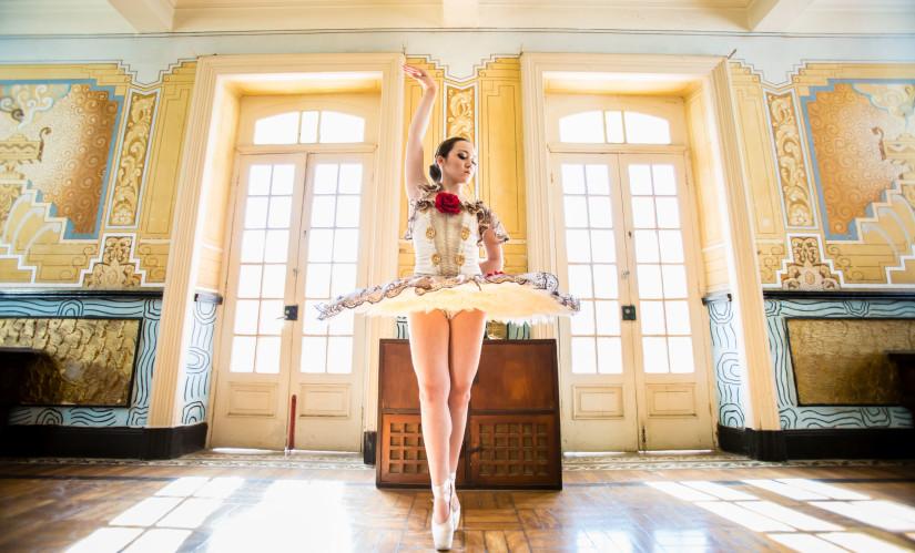 Bailarina no Hotel Varzea Palace em Teresópolis RJ
