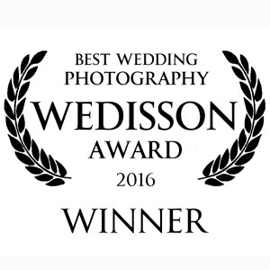 Premiado pela associação Wedisson de casamentos
