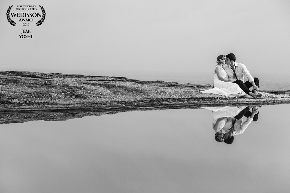 Trash The Dress - Foto premiada pelo  Wedisson Wedding Association