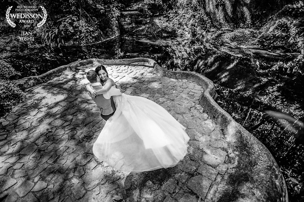 Trash The Dress no Parque Lage