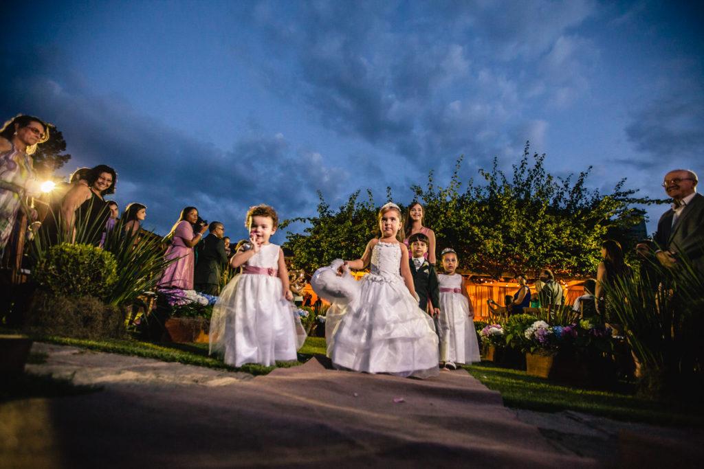 Casamento ao ar livre em Teresópolis