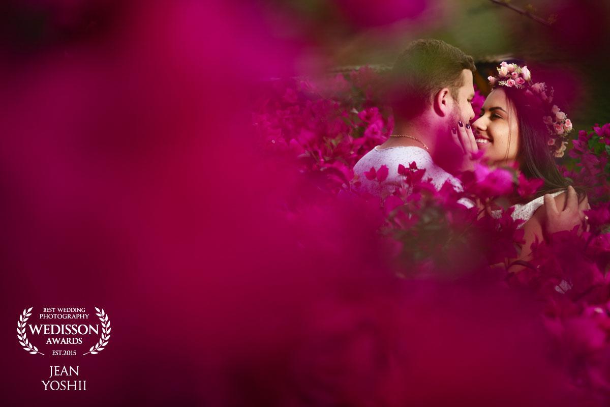 Ensaio pré casamento realizado nos Frades em Teresópolis