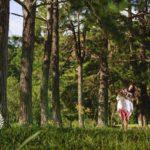 Ensaio pré casamento realizado no Golf Clube de Teresópolis