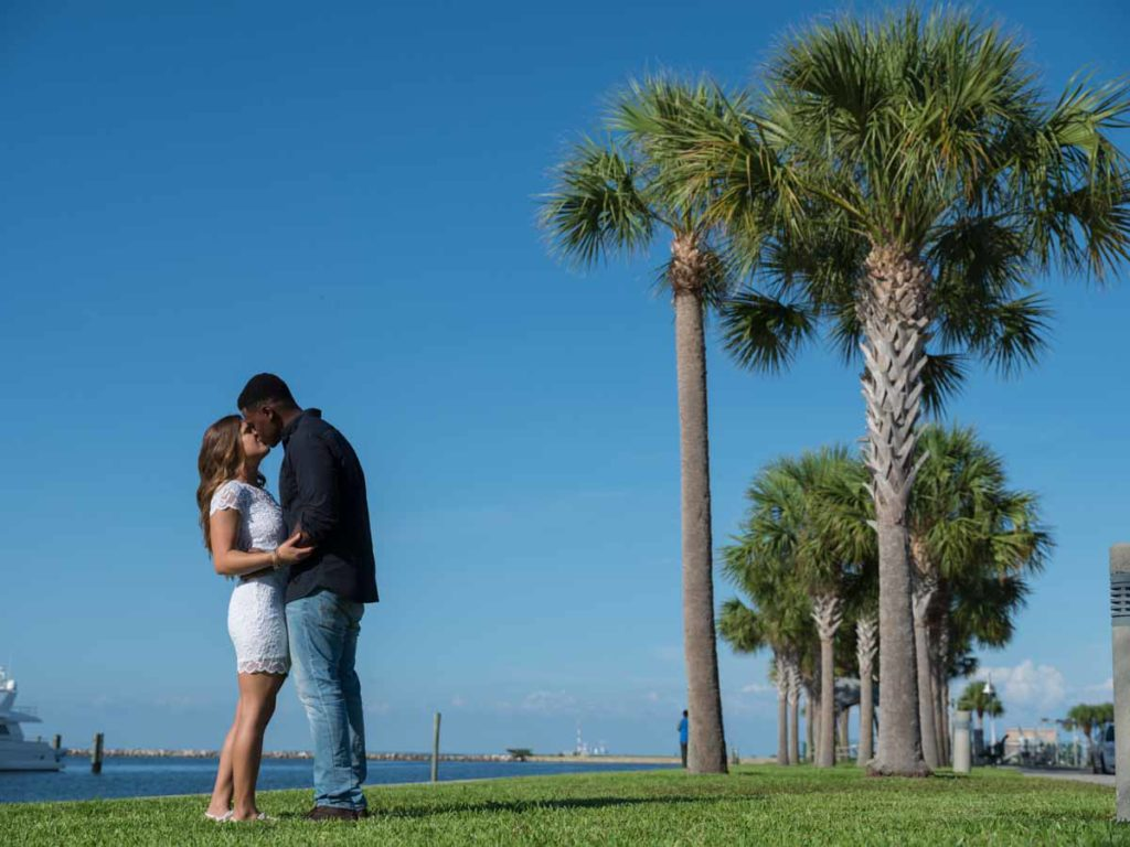 Engagement session in St Pete