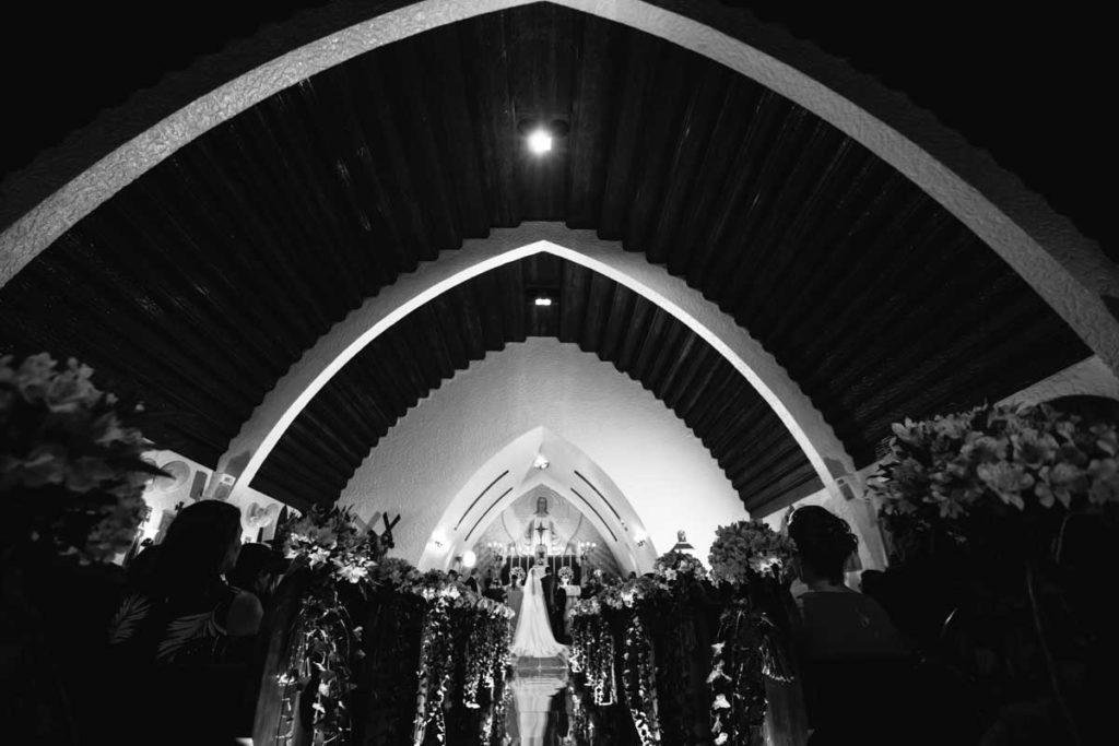 Casamento Cerimônia na igreja St Antonio