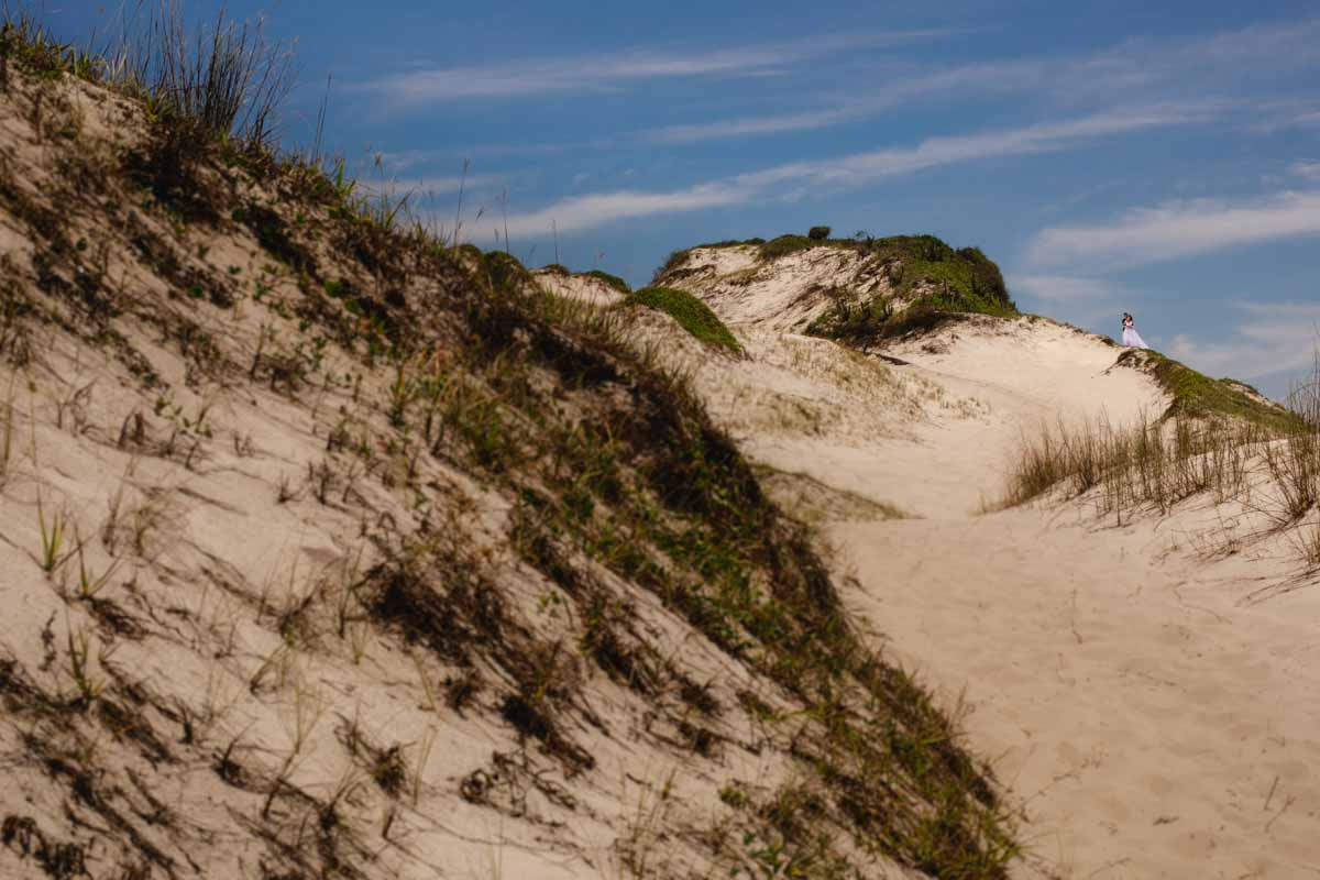 Ensaio pós casamento na praia em Arraial