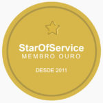 Membro ouro Star of Service