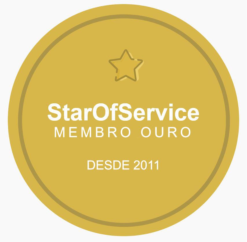 Membro ouro Star of Service