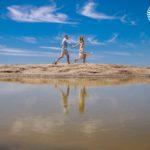 Ensaio pré casamento na praia de Itacoatiara Niterói