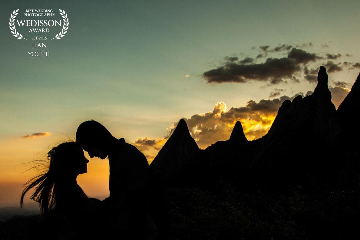 Ensaio pré casamento em Teresópolis - Dedo de Deus